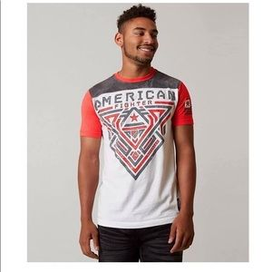 American Fighter NWT gray White